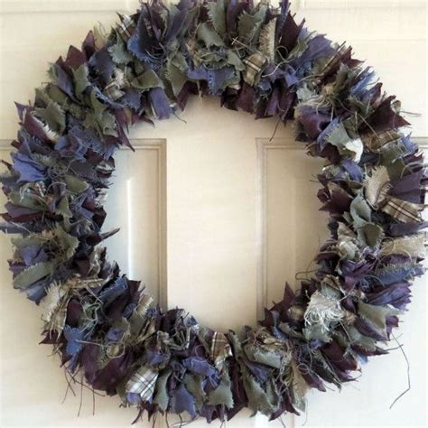 country style wreaths 17 best images about rag wreaths on felt