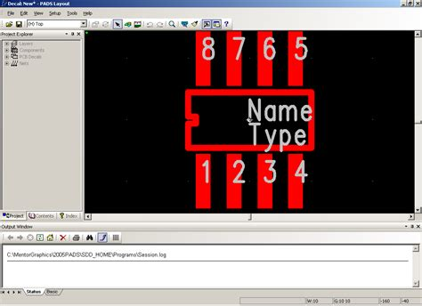 pads layout video tutorial creating a new part type using the pcb cae decal wizards