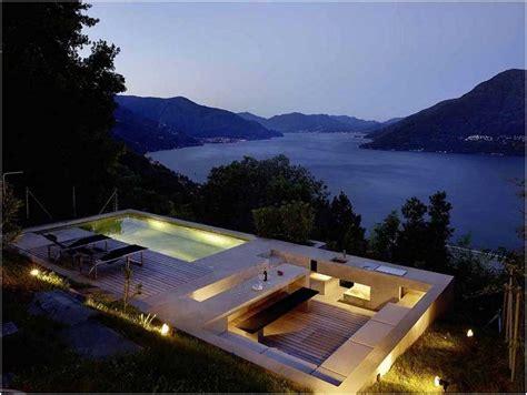 einbauleuchten garten bilder pool kleinen garten terrasse holz ueberdachung