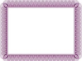 Borders Template by 7 Best Images Of Free Printable Purple Borders And Frames