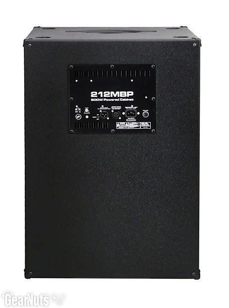 gallien krueger powered cabinets gallien krueger 212mbp 2x12 quot 500 watt powered bass cabinet