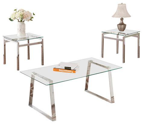 contemporary coffee tables and end tables coffee table and two matching end tables contemporary