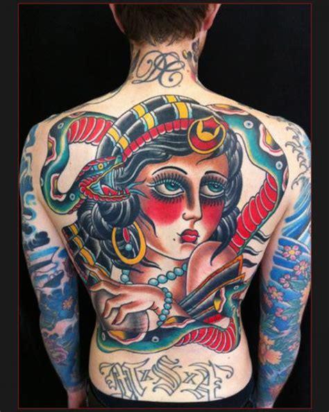 old school girl tattoo back old school girl face tattoo by chapel tattoo best