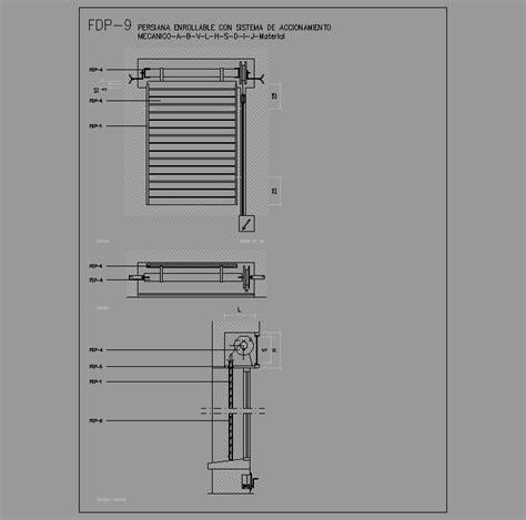 barandilla bloque autocad cad projects biblioteca bloques autocad fdp 09