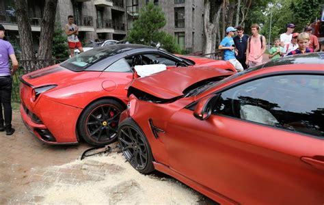 bmw california bmw m4 crashes into california in lithuania gtspirit