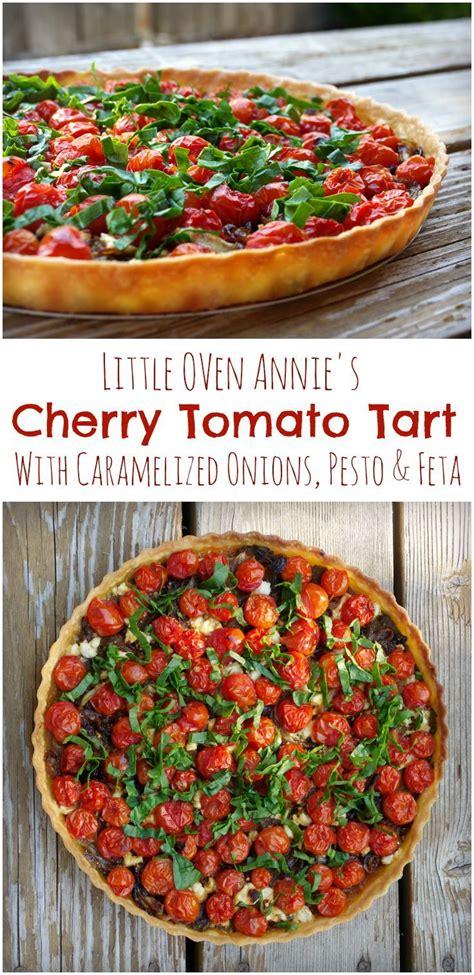 easy sweet and savory cherry tomato tart best 25 tomato tart recipe ideas on pinterest heirloom