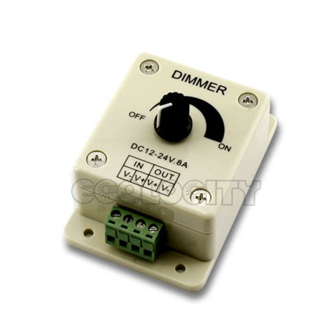 led light dimmer pwm led light dimmer with knob for dimming led lighting