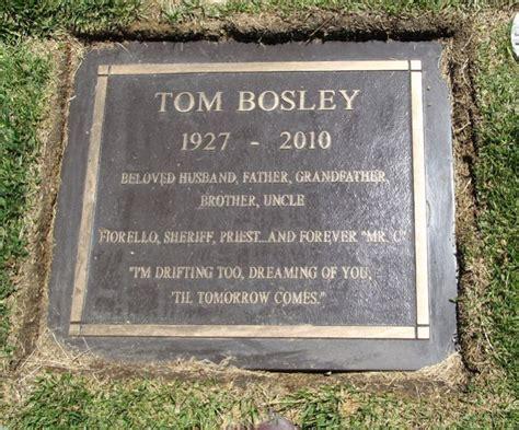 tom bosley found a gravefound a grave