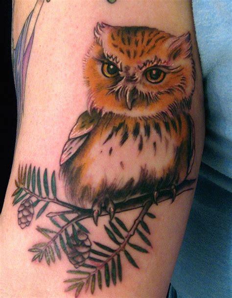 tattoo 3d owl 50 coolest owl tattoos designs outstanding 3d owl