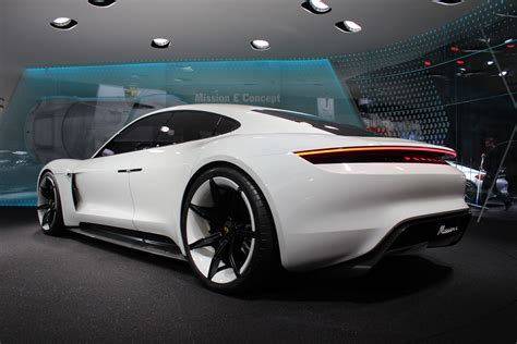 E Porsche Concept by Porsche Design Chief Talks About The Mission E Concept