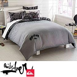quicksilver henchman twin size 2 piece duvet cover set by