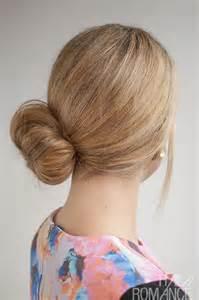hair cuts hair side bun 30 buns in 30 days day 25 the side sock bun hair romance