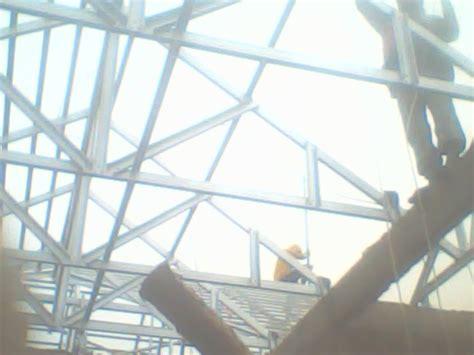 Bor Galvalum project rangka atap baja ringan galvalum di kemayoran