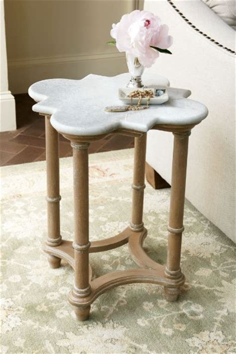 Surroundings Furniture by Bourges Side Table Marble Side Table Moorish Style