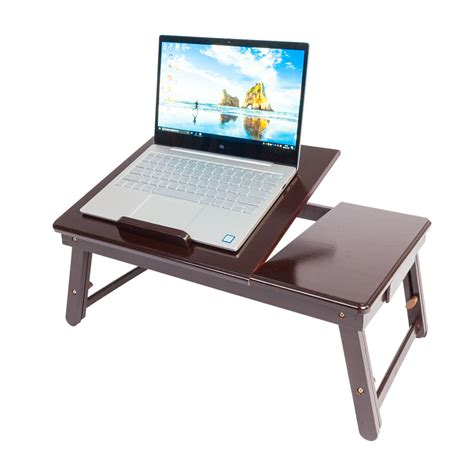 lap table for bed new portable double flower pattern folding laptop table