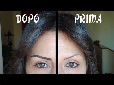 ciglia ali di gabbiano eyebrows sopracciglia perfette 3 tutorial matita
