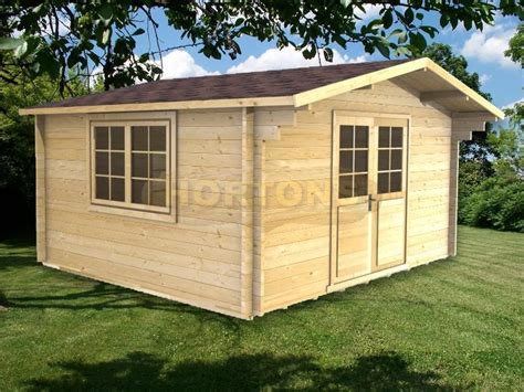 The Shed Reigate by Log Cabins Reigate 4x4m Log Cabin