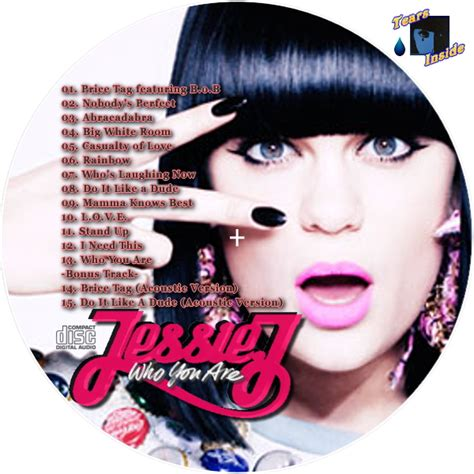 jessie j you are jessie j who you are ジェシー ジェイ フー ユー アー 日本盤 ボーナストラック