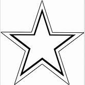 black-star-outline