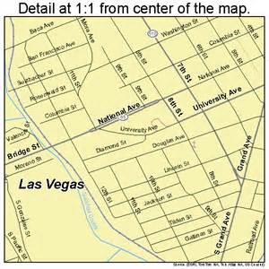 Las Vegas Nm Map by Las Vegas New Mexico Street Map 3539940