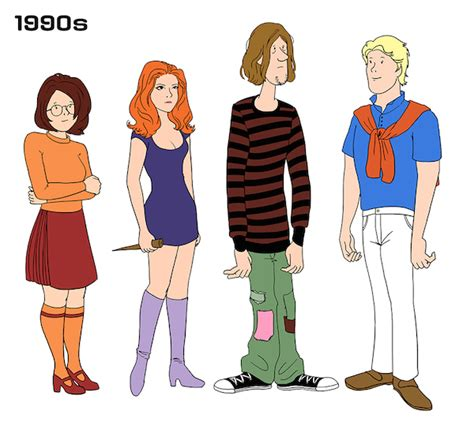 gang related clothing and styles girls city of olathe the evolving fashion styles of the scooby doo gang over