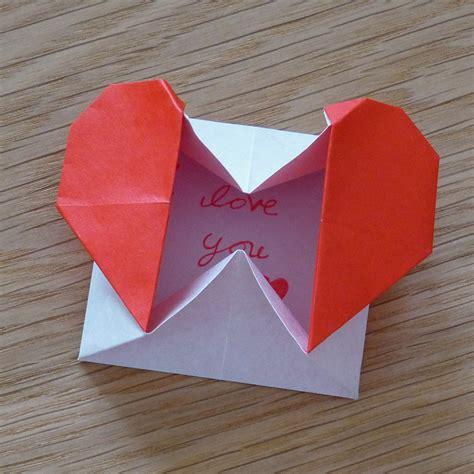 Origami Hearts - origami box hello deborah