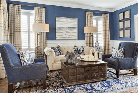 Living Rooms In Blue blue living room ideas