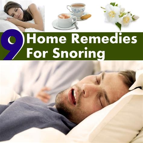 9 home remedies for snoring diy home things