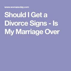 5 signs it's over marriage