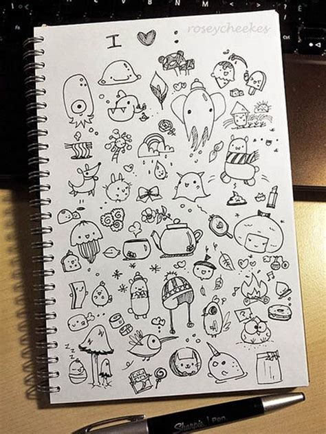 doodle ideas 40 beautiful doodle ideas page 2 of 2 bored