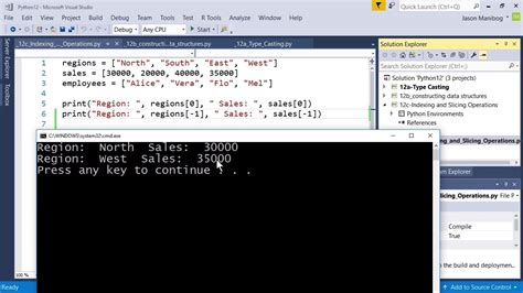 tutorial python slice indexing and slicing operations mta introduction to