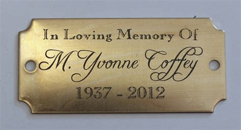 engraved tags engraved brass tag in a flash laser laser engraving boutique printing laser