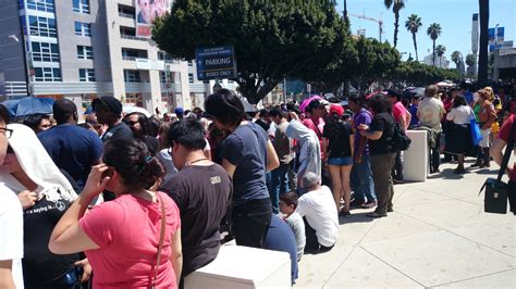 Day 0 Anime Expo by Look At The Lines For Anime Expo 2014 Day 0