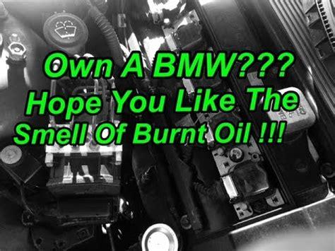 bmw valve cover oil leak drama  fix
