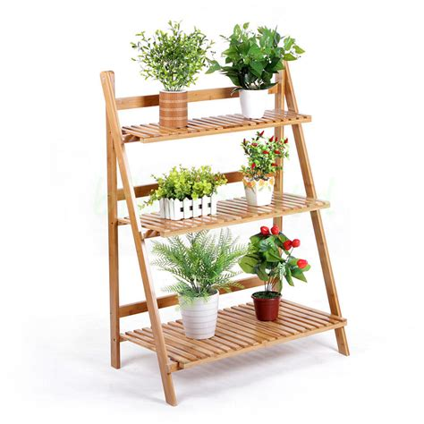 flower shelf unique beautiful flower display rack wood