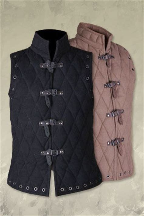 Quilted Doublet by Arthur Gambeson Vest I The Holes Left For Laces