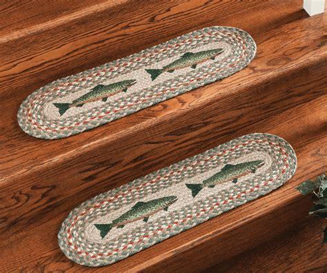 braided rug stair treads braided jute stair treads
