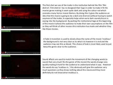 insidious film trailer analysis insidious movie trailer analysis