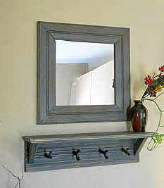 Entryway Shelf And Mirror Etsy Your Place To Buy And Sell All Things Handmade