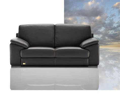 Italian Sofa Leather Dreamfurniture Tonga Modern Italian Leather Sofa Set