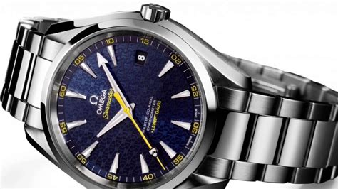 Omega Seamaster Aqua Terra 150m Master Co Axial Limited Edition James Bond 007 Spectre   YouTube