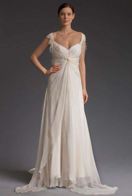 Renewing Wedding Vows Attire by Flowing Chiffon Gowns Ready For Your Vow Renewal