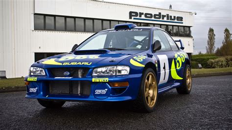 subaru wrc for sale colin mcrae s iconic wrc subaru for sale motoring research