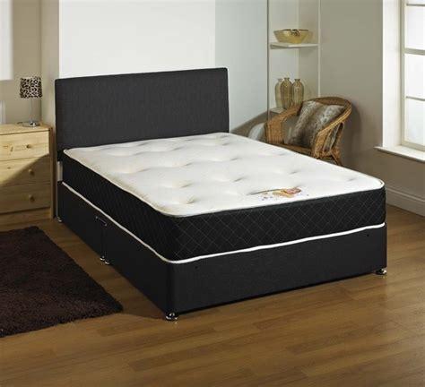 divan beds kensington 1000 pocket spring memory foam 4ft small double divan bed