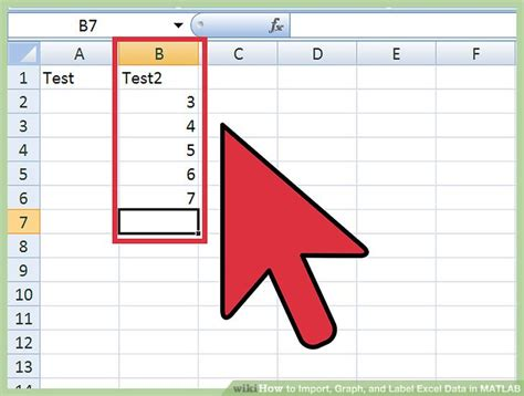 format excel matlab how to import graph and label excel data in matlab 13 steps
