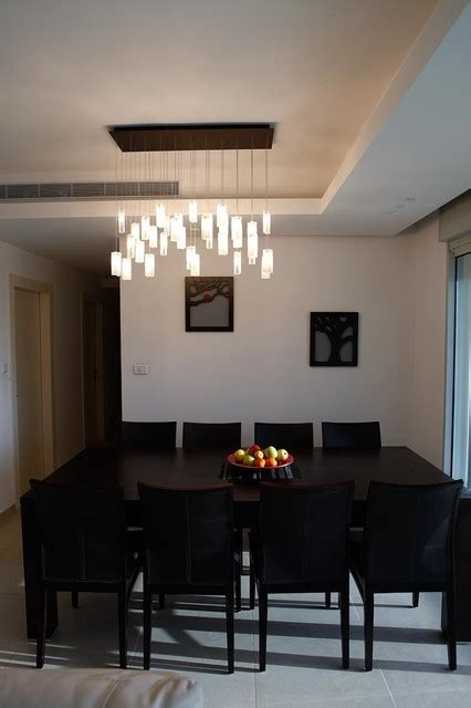 modern lighting dining room elegant chandelier rain drops pendants modern dining room miami by galilee lighting