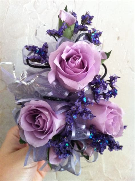 lavender corsage i want this with one and