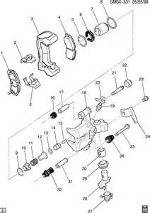2000 Buick Lesabre Rear Brakes Buick Lesabre Brake Caliper Rear