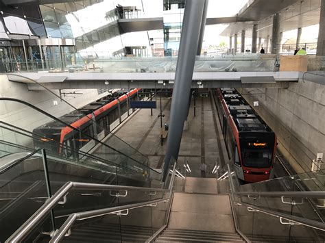Light Rail To Airport by File Bergen Airport Light Rail Station Jpg Wikimedia Commons