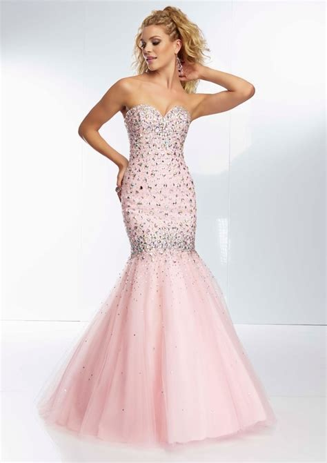 Dress Mermaid Pink light pink prom dress with mermaid style sang maestro
